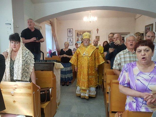 Єпископ УАПЦ зустрівся у Празі з українськими дипломатами з нагоди відкриття Духовної місії Карпатської єпархії УАПЦ в Чеській Республіці