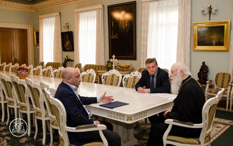 Глава УПЦ КП обговорив з прокурором АР Крим релігійну та соціально-економічну ситуацію на півострові
