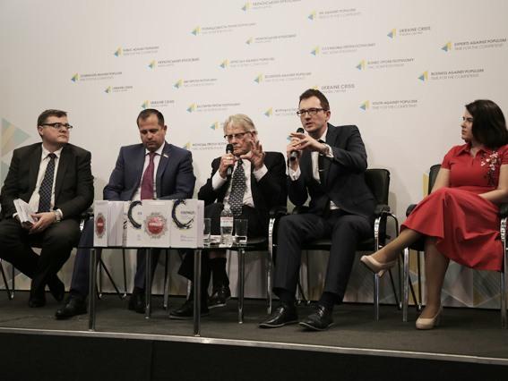 Нобелевский лауреат презентовал в Киеве книгу «Реформация. Успех Европы и шанс для Украины»