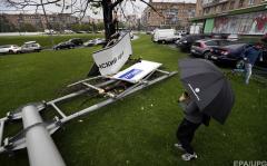 Ураган убил в Подмосковье гражданина Украины, который ремонтировал церковь