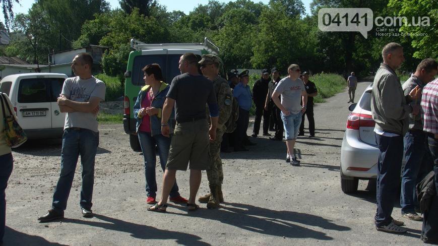 У Новограді-Волинському конфлікт навколо будівництва церкви УПЦ в мікрорайоні масового проживання військових