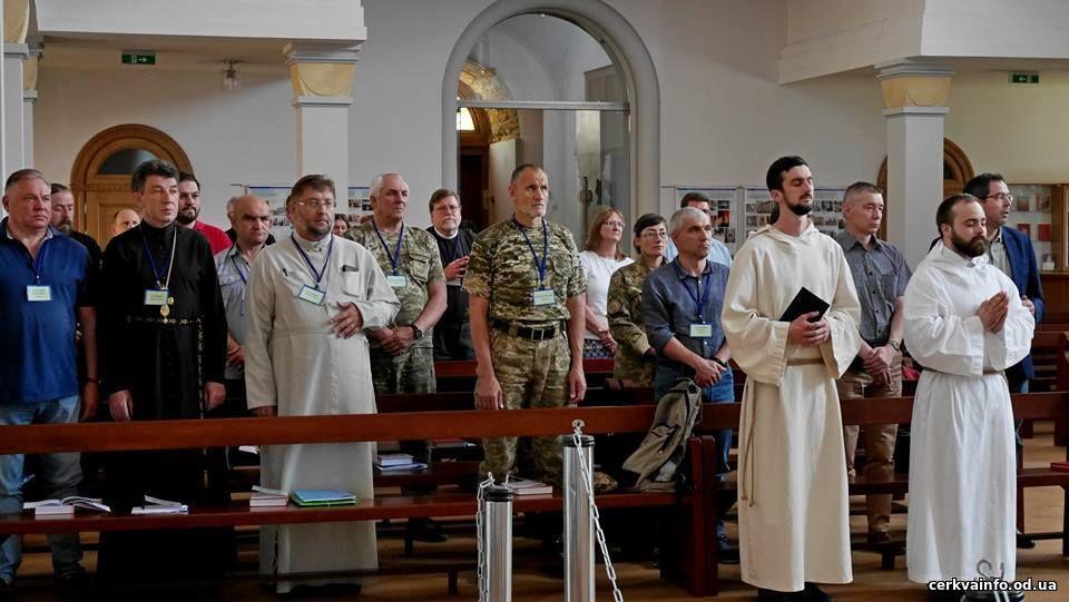 У лютеранському соборі Одеси відбувся семінар з капеланського служіння