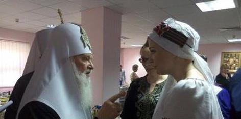 Оперная певица Мария Максакова, вдова убитого в Киеве экс-депутата Госдумы РФ, спела в богословской академии УПЦ КП