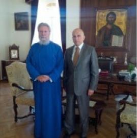 Посол України обговорив з главою Кіпрської Православної Церкви питання співробітництва