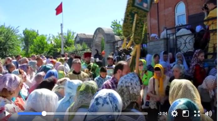 """Запорожских коммунистов на митинге охраняла православная организация """"Радомир"""""""