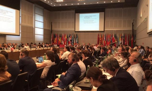 На конференции ОБСЕ представители УПЦ/РПЦ рассказывали о своих достижениях в России и проблемах в Украине