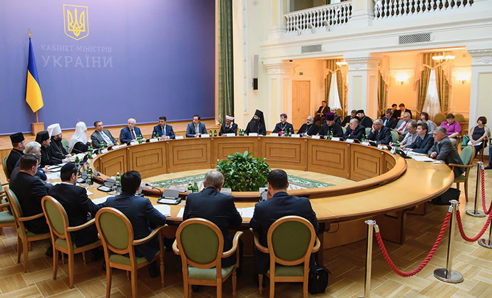 Всеукраїнська Рада Церков обговорила з прем'єр-міністром впровадження реформ у країні