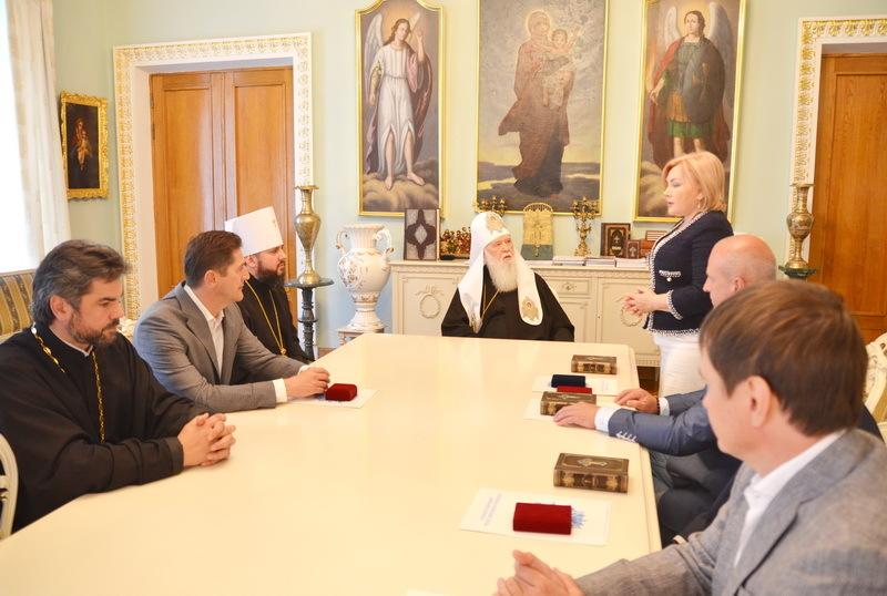 Глава УПЦ КП обговорив з представниками інтелігенції релігійну та економічно-політичну ситуацію в країні