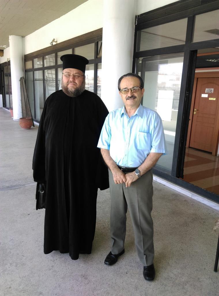 Київська академія УПЦ обговорює можливість співпраці з університетом ім. Аристотеля у Греції