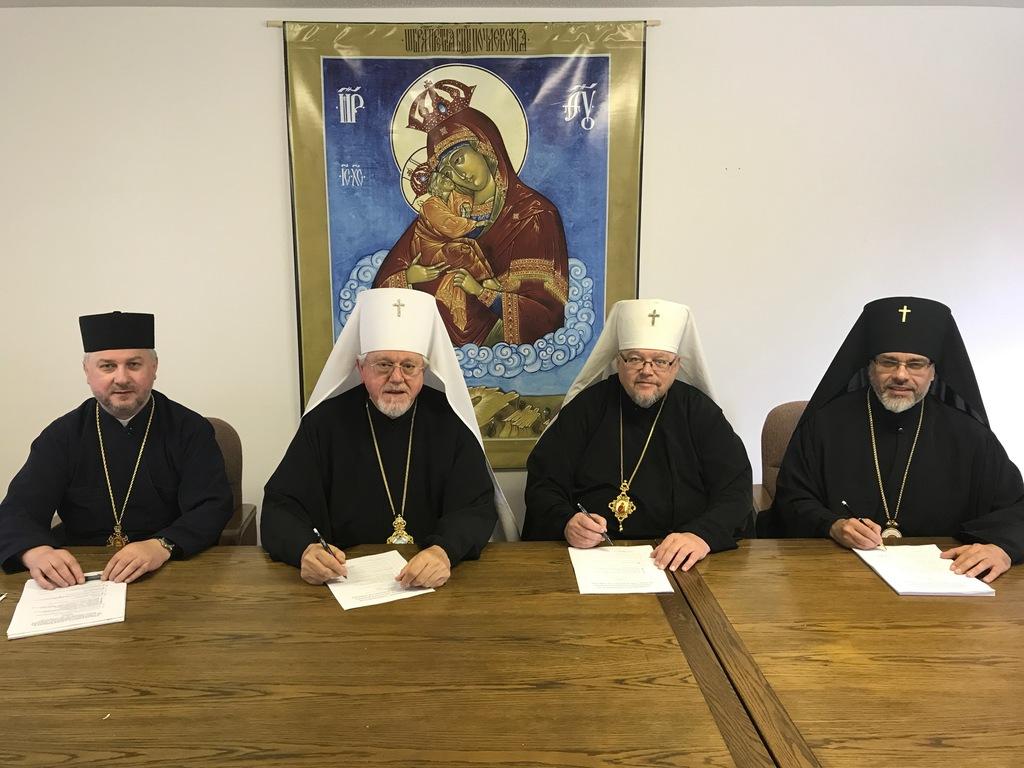 Конференція українських православних єпископів за межами України обговорила проблему єдності православ