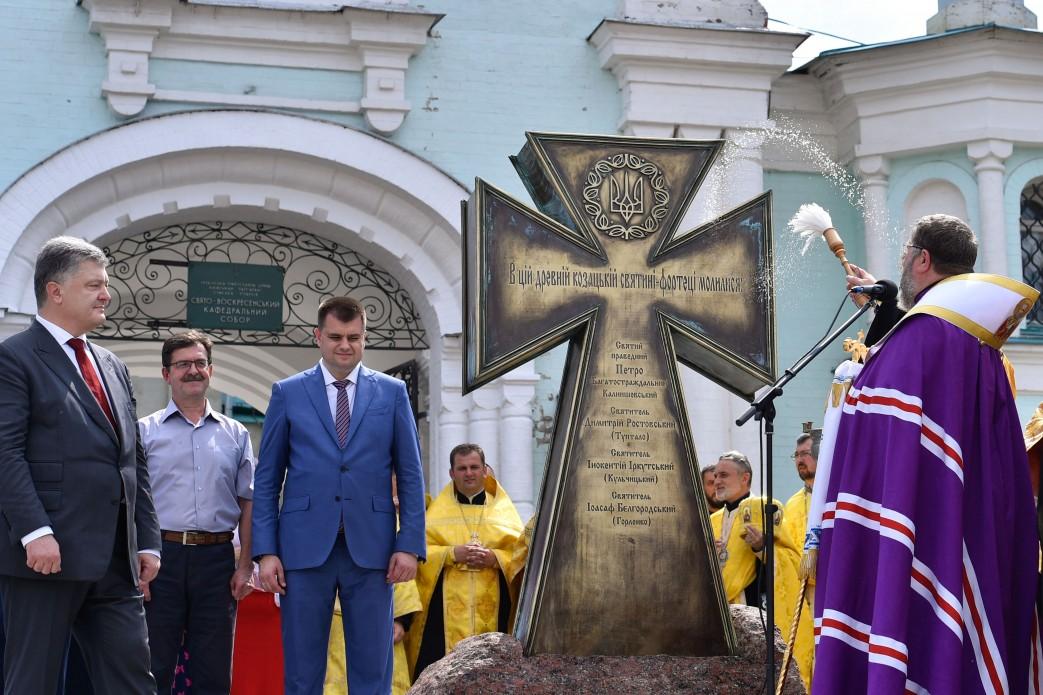 Президент України: «Я молюся, щоб Господь послав Україні єдину помісну церкву, щоб ми об'єдналися»