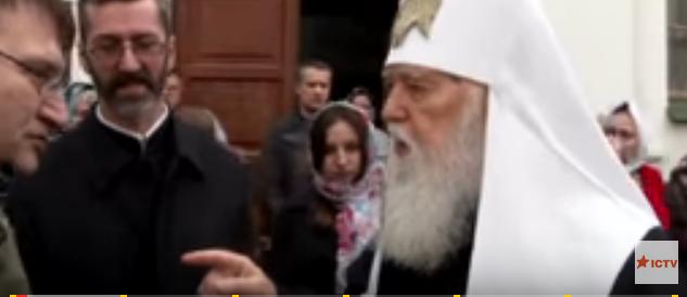 Телеканал ICTV снял фильм о главе УПЦ КП