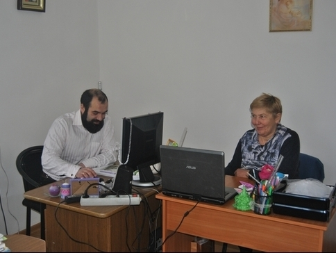 УГКЦ створить у Коломиї комп'ютерний клас для людей похилого віку