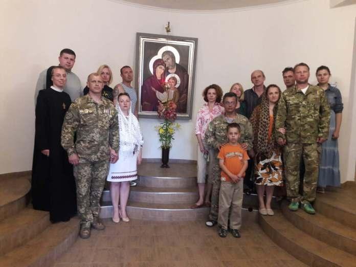 Сім'ї учасників АТО пройшли реабілітацію в монастирі УГКЦ