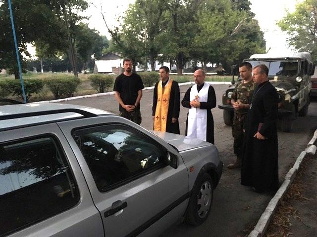 Єпископ і капелани УГКЦ відвідали військових у зоні АТО