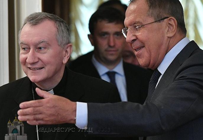 Держсекретар Ватикану нагадав Лаврову про незаконну анексію Криму
