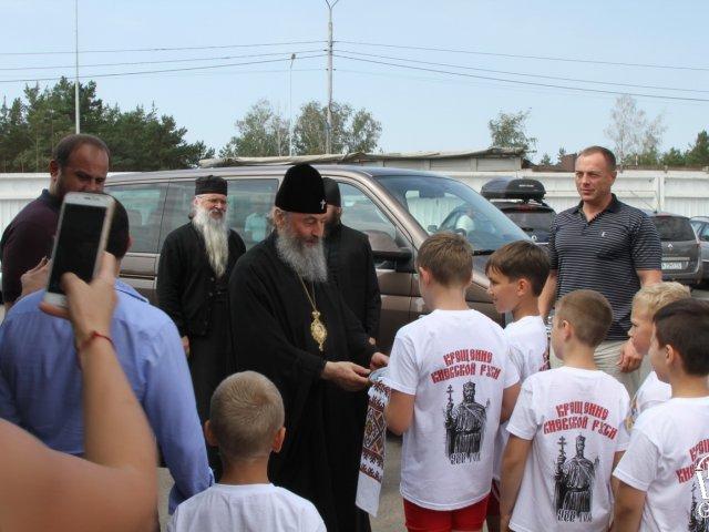 Митрополит Онуфрій відвідав Православну спартакіаду з греко-римської боротьби