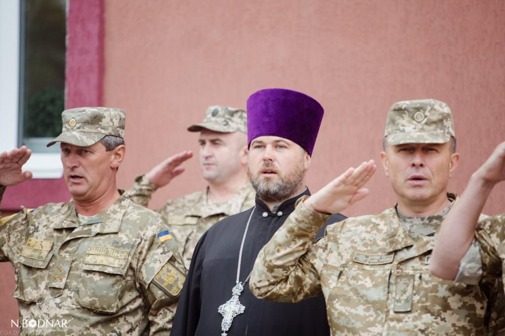 Єпархія УПЦ взяла участь у відкритті оновлених військових казарм