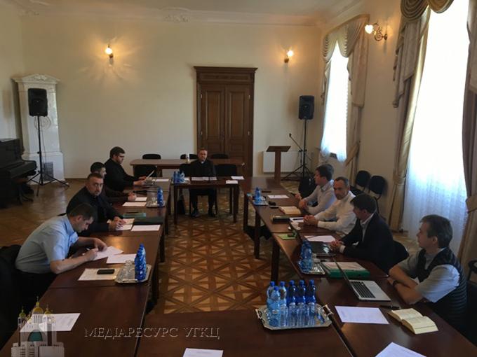 Відбулися чергові робочі зустрічі для напрацювання помісного права УГКЦ