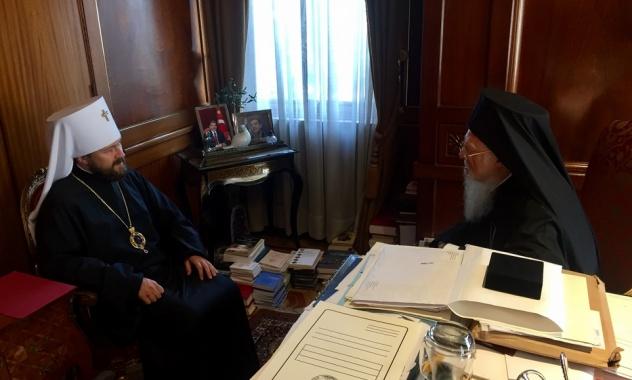 Москва і Константинополь обговорюють проблеми взаємодії