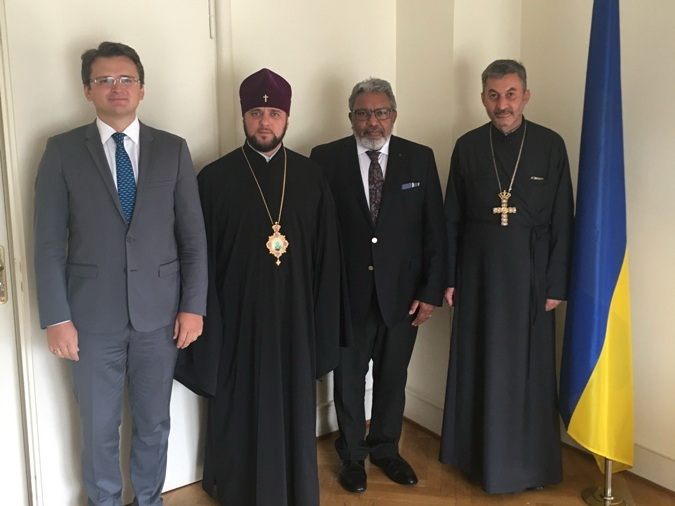 УПЦ КП і Представництво України в Раді Європи підтвердили дружні стосунки