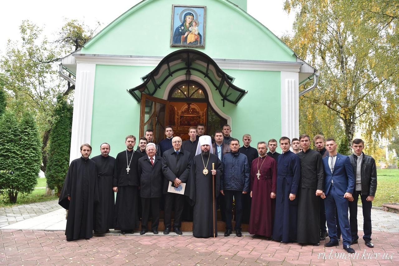 УПЦ КП освятила храм Чернівецького національного університету