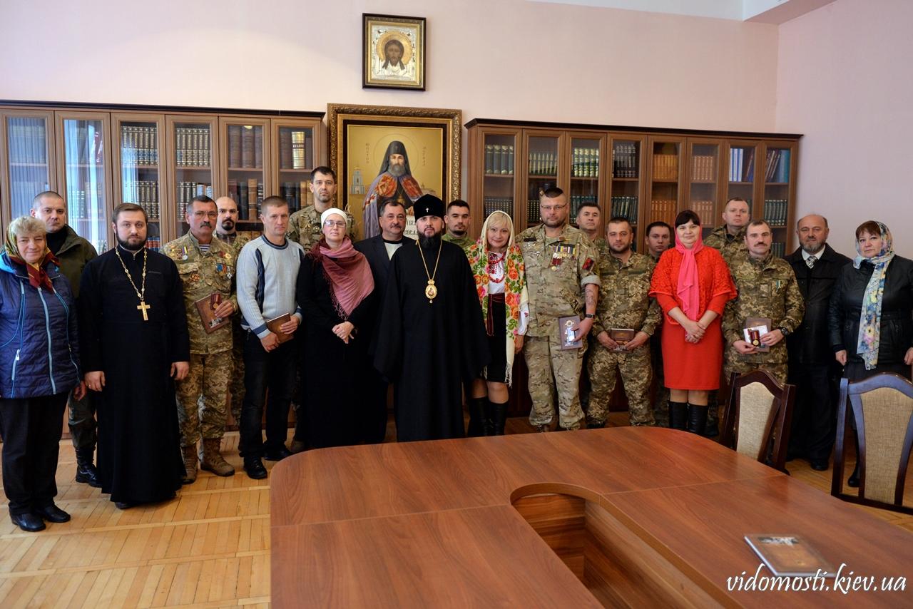 УПЦ КП нагородила групу військових і столичного прокурора