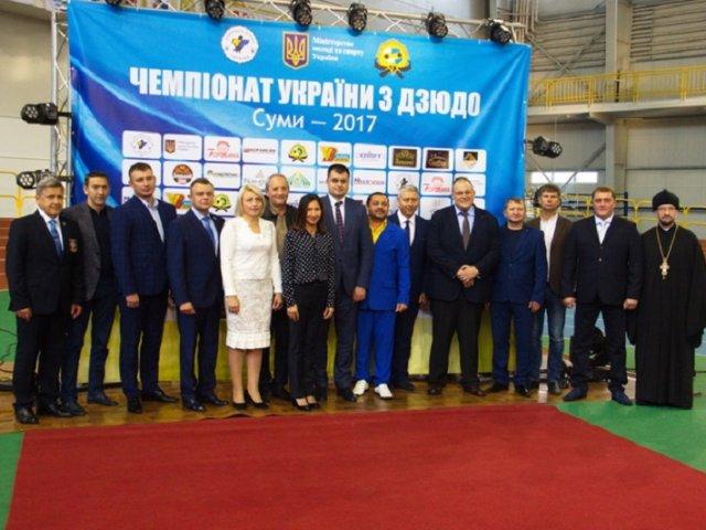 Представник УПЦ взяв участь у відкритті чемпіонату України з дзюдо