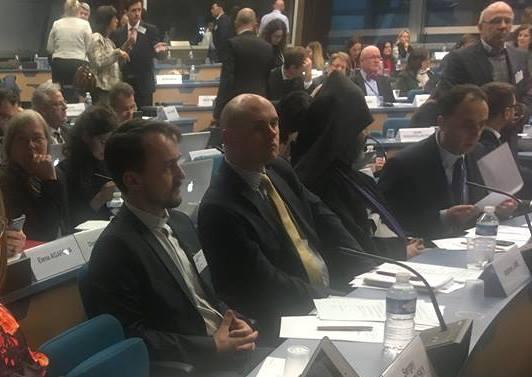 В УГКЦ помітили, що представник УПЦ (МП) у Страсбурзі перебуває під опікою представника РПЦ