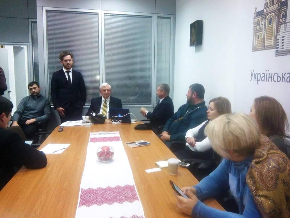 Відбулася зустріч українських капеланів з капеланом ВВС США