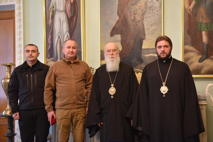 Глава УПЦ КП нагородив керівника СБУ і обговорив з ним державно-церковні відносини