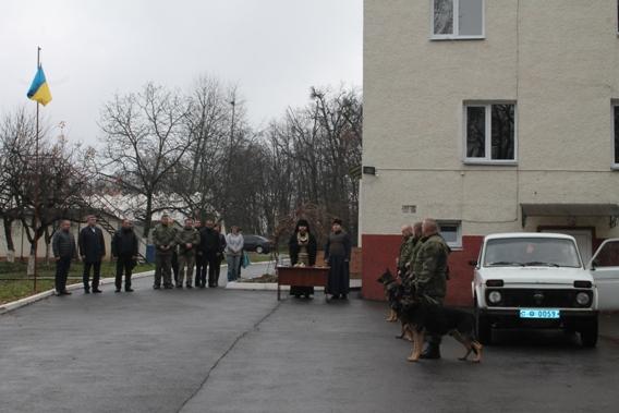 Духовенство УПЦ благословило кінологів у зону АТО