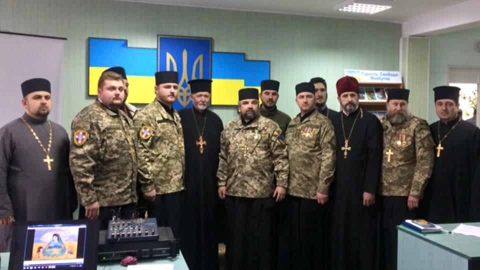 Волинські капелани УПЦ КП підсумували свою діяльність, а капелан УГКЦ привіз учасників АТО на реабілітацію в Арабські Емірати