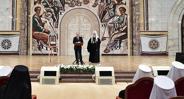 Епископы УПЦ саботировали выступление Путина на соборе РПЦ