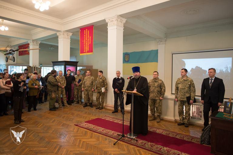 Капелани долучились до презентації ІІ тому «Книги пам`яті військовослужбовців», які загинули за Україну