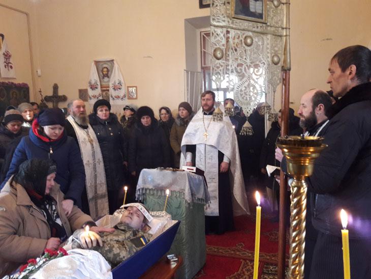 Клірики УПЦ звершили відспівування українських бійців АТО