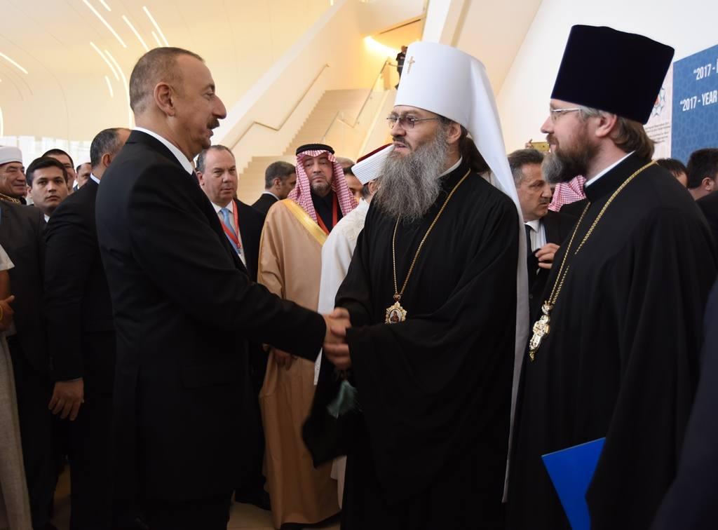 УПЦ приєдналась до конференції з міжрелігійного діалогу в Баку