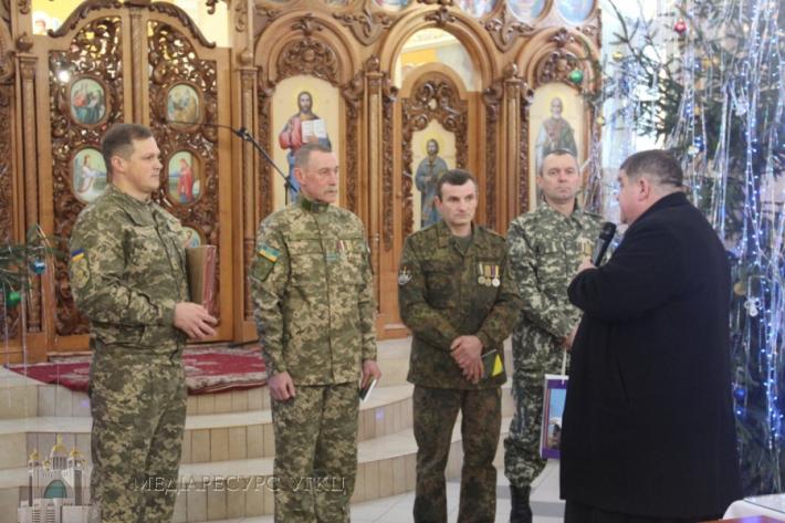 Спілка бійців та ветеранів АТО відзначила медалями священиків УГКЦ