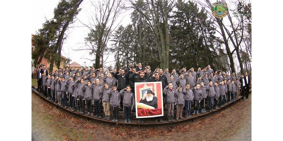 Международный зимний лагерь для мальчиков-хасидов прошел под Житомиром