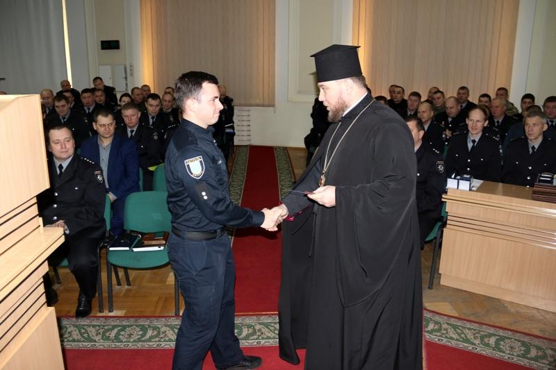 УПЦ КП нагородила кращих поліцейських Дніпропетровщини