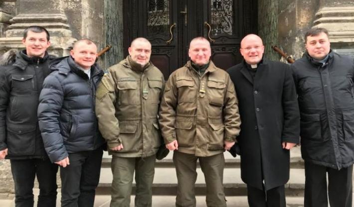 Начальник служби з питань військового духовенства Нацгвардії обговорив співпрацю з капеланами УГКЦ