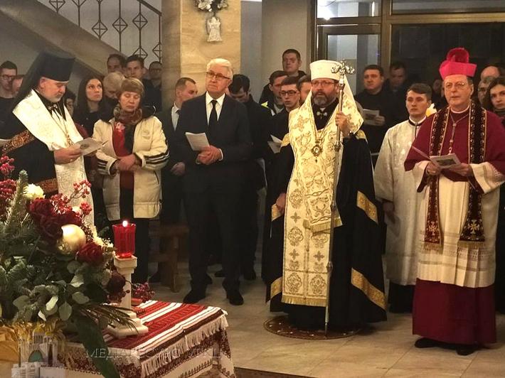 Апостольській нунцій закликає українців-християн «шукати разом голос Духа Святого, щоб світ увірував, а не згіршився через наші поділи»