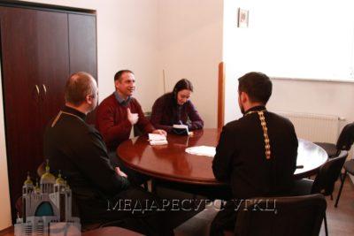 Представник ОБСЄ обговорив з представниками УГКЦ церковні та міжконфесійні події