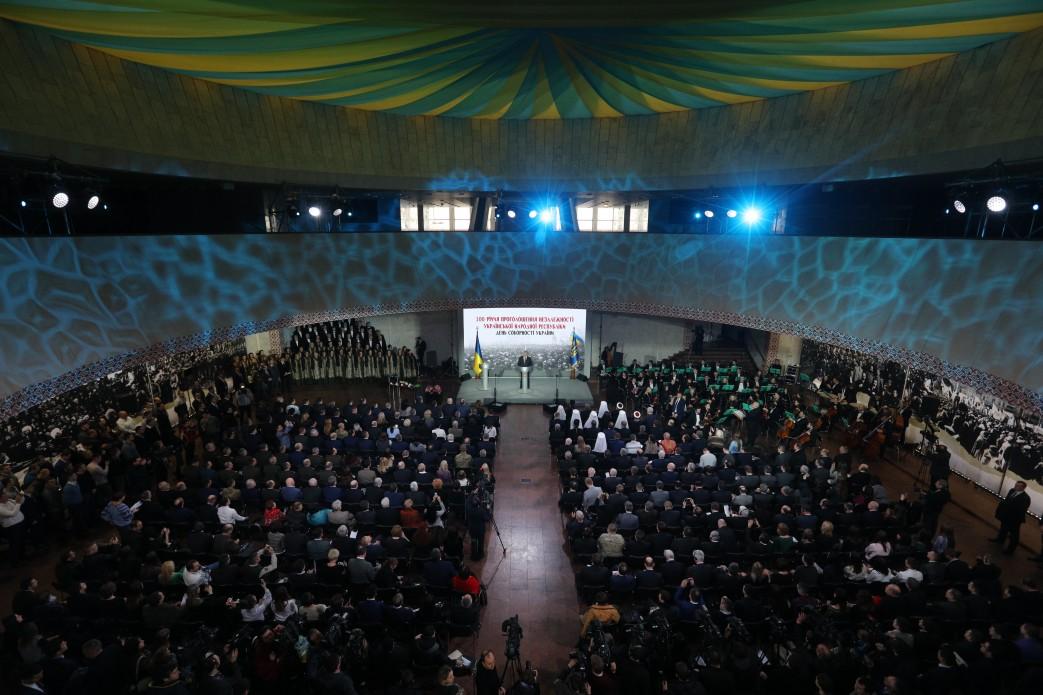 Церкви взяли участь у державних заходах з нагоди Дня соборності України
