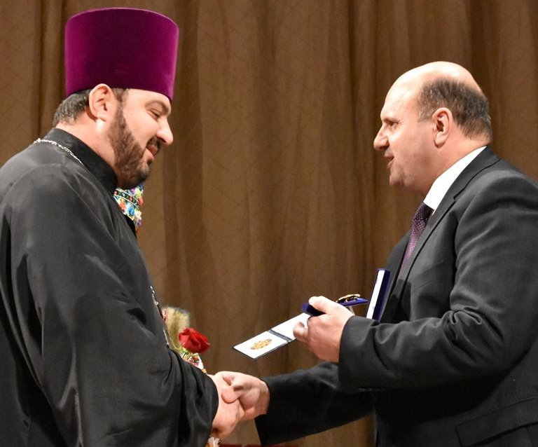 Священика УПЦ КП нагороджено відзнакою «За заслуги перед Буковиною»