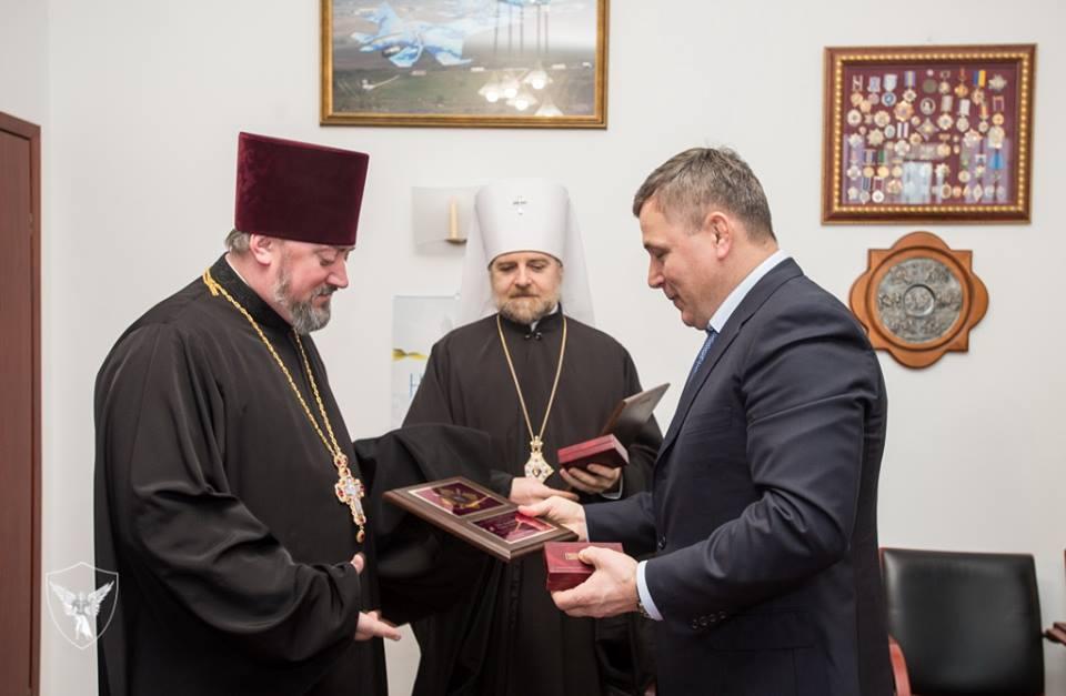 Представники військового духовенства УПЦ КП нагороджені пам
