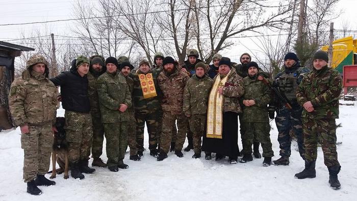 Капелани УГКЦ відвідали військових у зоні бойових дій