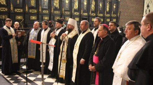 У Тижні молитов за єдність християн взяли участь представники РКЦ, УГКЦ, УПЦ (МП), УПЦ КП, УАПЦ, вірмени і протестанти