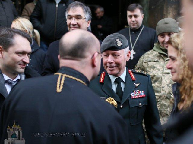 Генерал-губернатор Канади відвідала гарнізонний храм УГКЦ у Львові