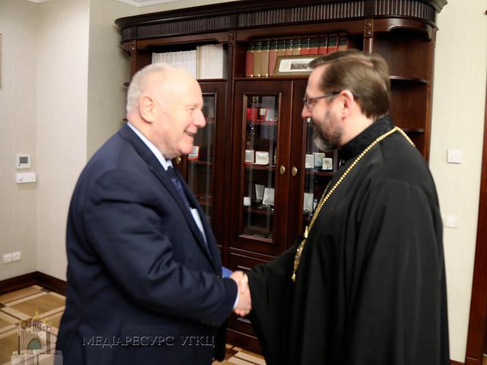 Глава УГКЦ обговорив з послом Німеччини українські реформи